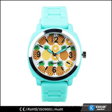 2015 new arrival watch geneva watch attractive color