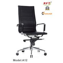 Современное кресло-стульчик из высококачественного кожаного кресла (A12)