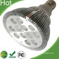 Silergy Power Solution Bridgelux Chip LED PAR38 12W Lamp
