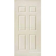Pele de porta de design nova / pele de porta HDF moldada