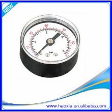 Jauge de pression HAOXIA 40 avec raccord arrière pour compresseur d'air