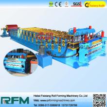 FX revestimentos de camada dupla com acabamento frio máquinas de formação
