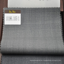 "super 110"" 100% wool fabric in prince of wales check"