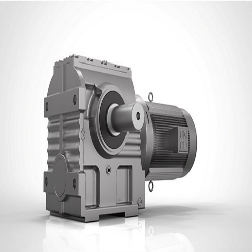 Seri S Solid Helical Shaft Worm Speed ​​Gearbox