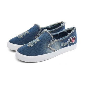 Slip-on Jean Canvas Shoes for Men