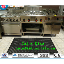 Hotel Rubber Mats, Anti-Fatigue Mat, Anti-Slip Kitchen Rubber Mats Anti-Bacteria Rubber Mat