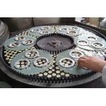 Aluminium parts surface grinding machine