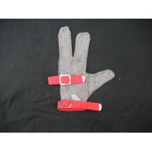 Стальная Кольчуга Защитная 3 Пальцев Перчатки