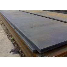 Placa de acero laminada en caliente de 80 mm de espesor SS400