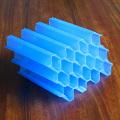 Colector de tubo inclinado placa clarificadora de lamelas de 50 mm