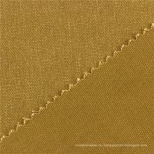 Фабрика в Китае Покрашенная равнина ОЕМ 269GSM хаки холст хлопчатобумажная ткань