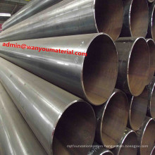 New -ERW Welded Carbon Black Structure Transportation Steel Pipe