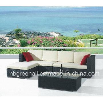 O mais atrasado elegante Patio Rattan Chat Group Furniture