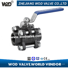 3PC Carbon Steel Floating Ball Valve
