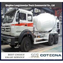 16 Cubic Beiben 8X4 Concrete Mixer Tank Truck