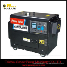 Générateur diesel à refroidissement par air optionnel à trois phases