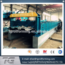Automatic operating high speed 915 floor deck roll forming machine for Sale