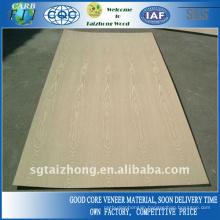 Good Quality Natural White Ash Veneer Plywood