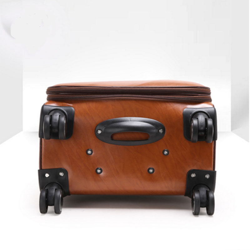 Waterproof pu luggage