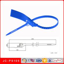 Selo plástico da segurança plástica do fechamento Jc-PS105 para o recipiente