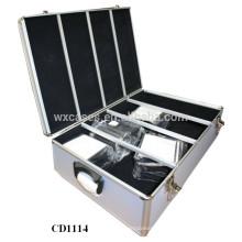 haute qualité & forte 1200 CD disques CD boîtier aluminium gros