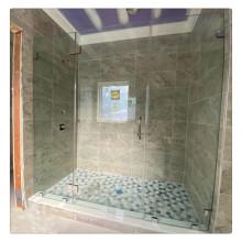 Preise für gehärtetes Glas für Badezimmer Duschvorhänge Partition