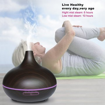 Ultrasonic Cool Mist Aroma Humidifier 300ML