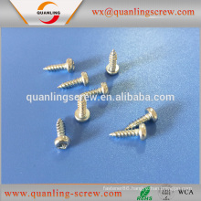 Hot sale top quality best price pan flanged head zinc self tapping screw