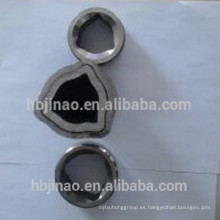 Tubo de acero triangular sin costura, extraído en frío, utilizado para el eje de toma de fuerza agrícola