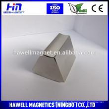 Мощные неодимовые магниты с трапециевидной редкоземельной поверхностью N52 Используются для ветряных генераторов