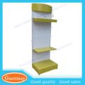 Kundenspezifische abnehmbare 3-lagige Metall-Pergament-Birne Display-Ständer mit Logo auf der Oberseite