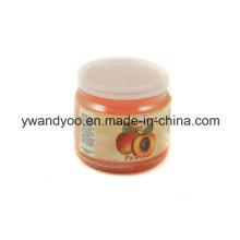 Vela de soja perfumada natural na caixa de presente