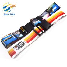 Correias transversais coloridas brilhantes da bagagem 2PCS com fivelas de cinto