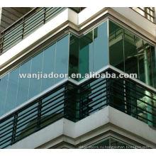 Алюминиевый балкон солярий