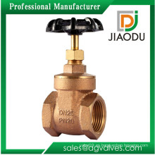 CNC bien definido bien vendiendo la válvula de puerta de cobre amarillo de la alta calidad dn150 cw617n para el agua