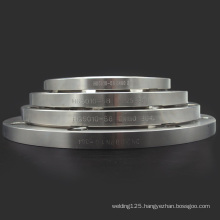 High precision 304 flat plate stainless steel forged pipe fitting flange window