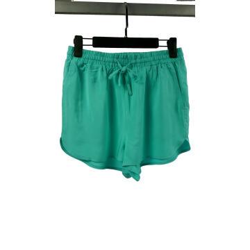 Shorts de playa casuales 100% rayón para mujer