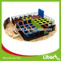 Liben Trampoline Park - conception, fabrication, assemblage sur le terrain. Qualité de pointe, service supérieur. NON CHARGEMENT DE FRANCHISE, trampoline arena