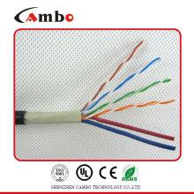 Catégorie 6 2 câble d'alimentation câble réseau siamois