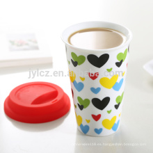 taza de cerámica sin asa