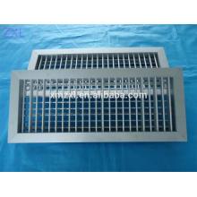 Doble rejilla de aire de deflexión, rejilla de aire, rejilla de aire acondicionado, rejilla de aire con regulador