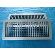 Double Deflection Air Grille, fresh air grille, air conditioning grille,air grille with damper