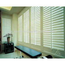 hot saled home window decoration fauxwood plantation shutters