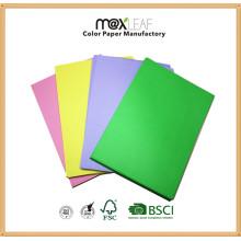A4 Papel a cores / papel de escrita / papel de cópia Fabricante