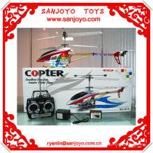 helicoptere 3CH alliage hélicoptère rc w / coloré LED