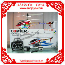helicoptere 3CH alloy helicopter rc w / colorful LED