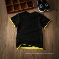 Großhandel Sommer schwarz lässig Kinder Kleidung Kinder Kleidung T-Shirt für Jungen