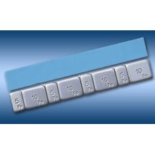 Pedazos adhesivos pegados de la rueda de Fe 5g / 10gX4