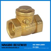 Válvula de control de cobre amarillo del alto rendimiento en la venta caliente de China (BW-C01)