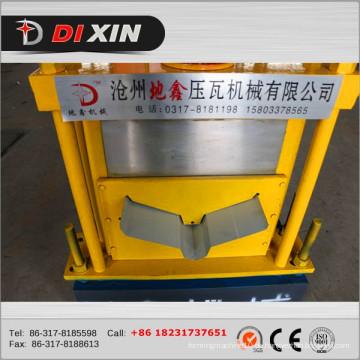 Ce Proved Aluminium Ridge Cap Kalt Roll Umformmaschine Blechmaschine